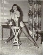 Il seno di Betty Page