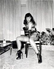 La frangetta di Betty Page