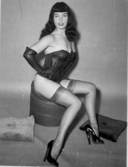 Le gambe di Betty Page