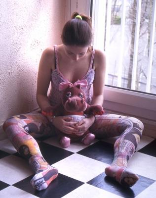 Arte sulle gambe