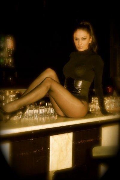 Al bar, sul bancone