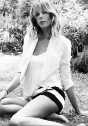 Alessia Marcuzzi in calzoncini