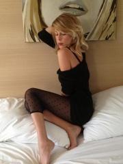 le calze di Alessia Marcuzzi