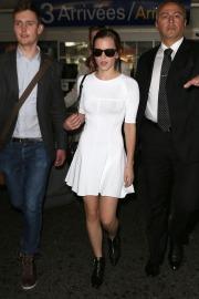Emma Watson in aereoporto