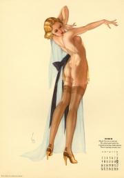 Esquire Magazine Calendar 1941