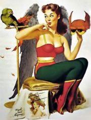 Hawk Girl (c.1940)