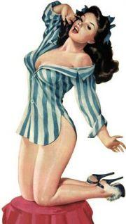 Pin-up girl di Gil Elvgren