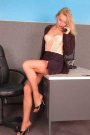 Linerie in ufficio