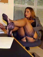 Nylon sulla scrivania