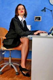 western office lady