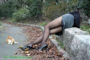 Vere gambe di vere donne in collant