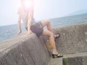 Gambe al mare