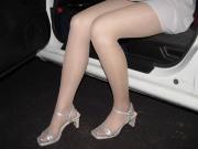 Sandali e collant