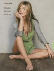 I piedi di Jennifer Aniston
