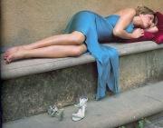I piedi di Jennifer Aniston upskirt