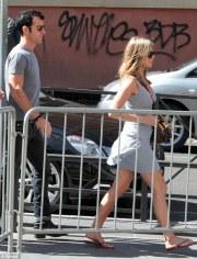 Jennifer Aniston a Roma