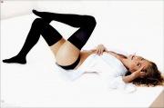 Jennifer Aniston con le calze