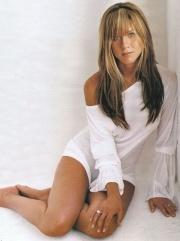 le gambe di Jennifer Aniston