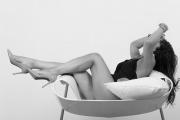 Gambe e tacchi di Miss luglio