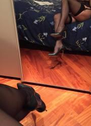 Le gambe allo specchio