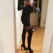 Coi collant di Paris Hilton
