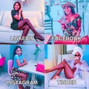 Adeola su 4 social