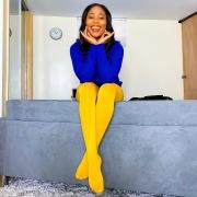 In giallo e in blu