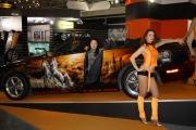 Salone dell auto gambe e motori