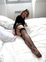 Le pieghine delle calze di nylon