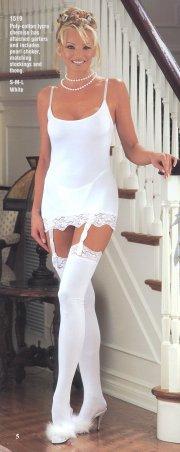 Reggicalze e calze di cotone