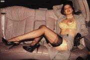 Reggicalze in limousine