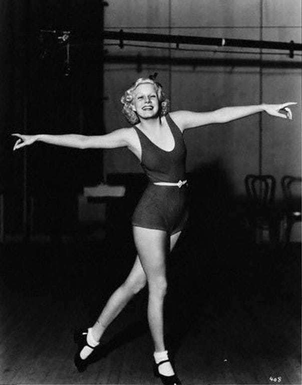 Jean Harlow che danza
