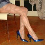 collant loreline sulle gambe di Thea
