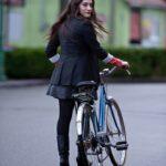 Gambe in bicicletta