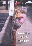 "Gambe&Nylon Over ""anta"""