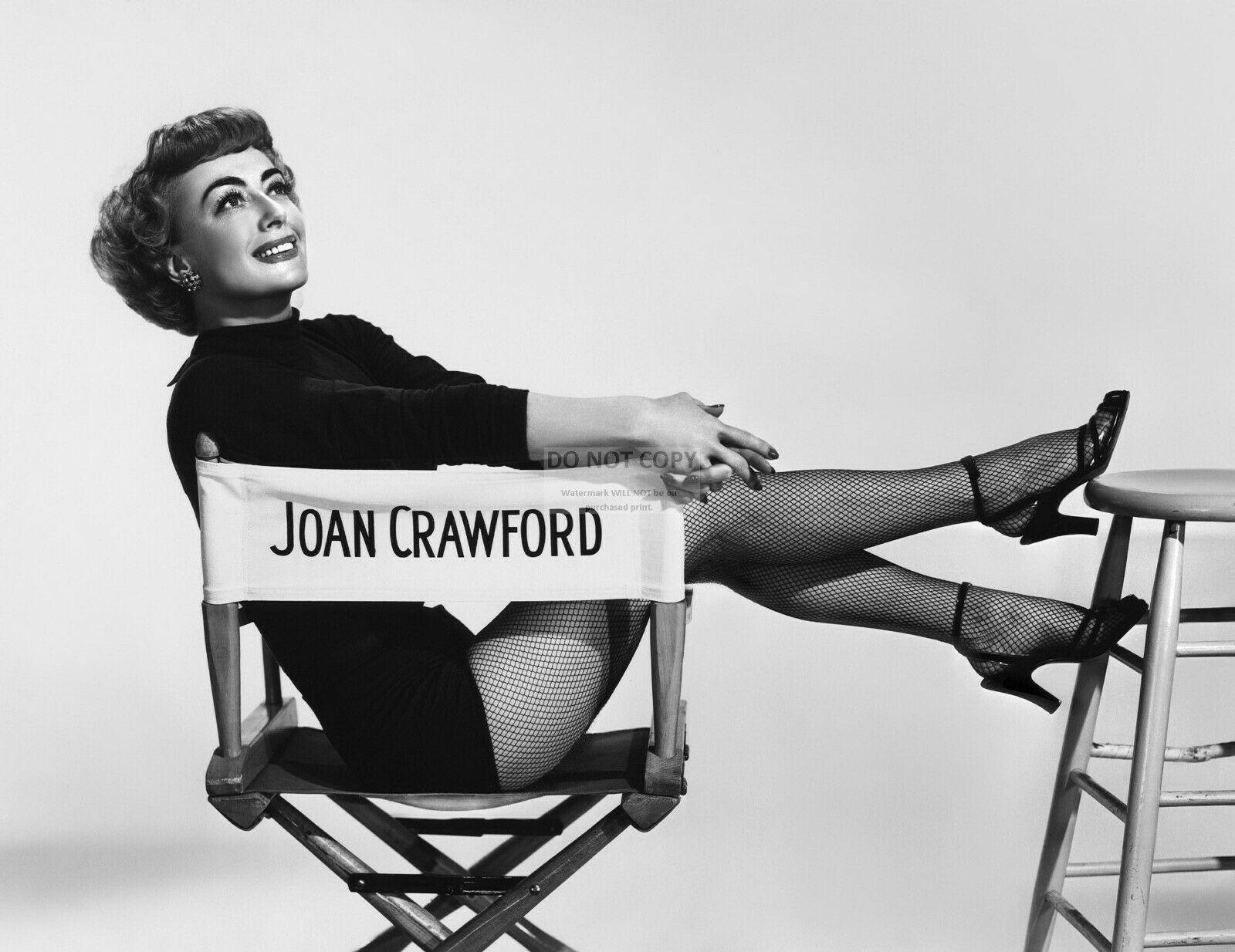 Joan Crawford in collant a rete